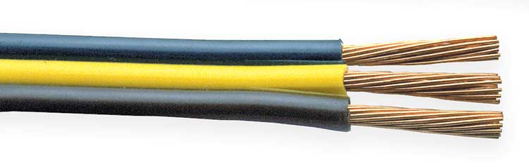BONDED WIRE - 3 CONDUCTORS, BONDED WIRE, MULTI-CONDUCTOR WIRE, WIRE ...