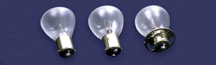 BULB TYPE RP 11 MINIATURE LAMPS