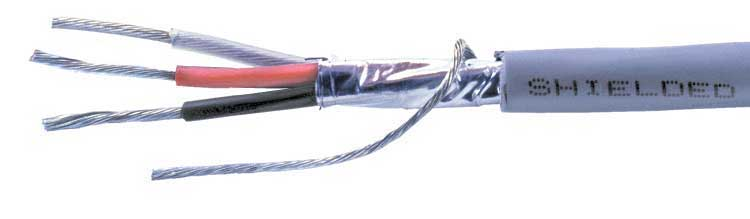 3 CONDUCTOR COMMUNICATION CABLE-SHIELDED, COMMUNICATION CABLE ...