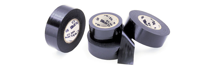 TAPE110 non adhesive wire harness tape, tape terminal supply company black non-adhesive vinyl wiring harness tape at bayanpartner.co